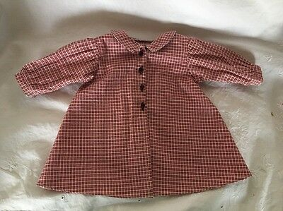 1996 American Girl Doll Outfit KIRSTEN HOUSECOAT Robe Retired