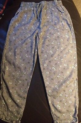 Girls Summer Trousers Size 6-7 Years