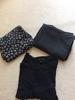 Maternity Office Work Clothes Bundle. Black Trousers Size 12-14
