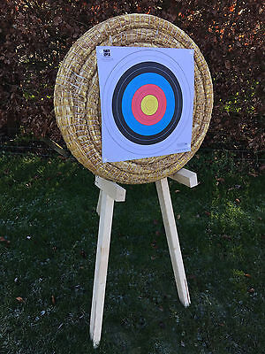 Egertec 65cm Straw Archery Target, Manufacturered In The UK. 30% OFF RRP