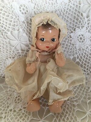 """Vintage EFFANBEE Tinyette Special Edition Composition Doll 7"""""""