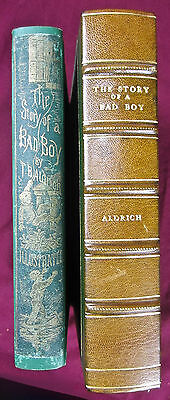 1870 1st ed. children's book - story of a bad boy - portsmouth, new hampshire