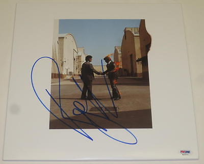 Roger Waters Pink Floyd Signed Autograph Album Lp Wish You Were Here Proof Psa