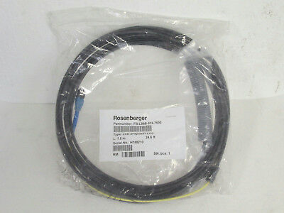 Rosenberger FB-L98B-032-7500 FTTA Fiber Jumper Cable w/Hotmelt, 7.5m (24.6 ft.)