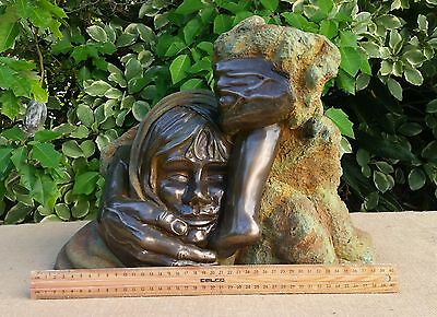 "Young Girl Sculpture ""Consequences"""