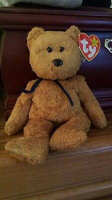 Ty Beanie Baby (fuzz) Rare-1998 P.E. Pellets Errors On Tag  Collectible!