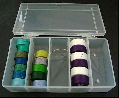 Bobbin Box Plastic Storage For C-Lon Nymo Sewing Machine Reels