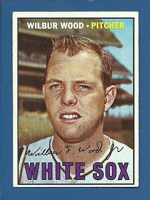 1967 Topps # 391 Wilbur Wood  Chicago White Sox  EX  Additional ship free