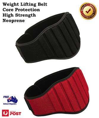 Weight Lifting Belt Lower Back support Gym Training Body Building Pain Relief
