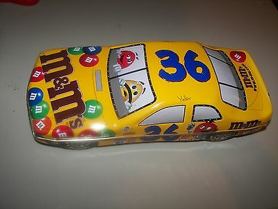 M&m Candy Dish  - Race Car - 2 Piece  #36