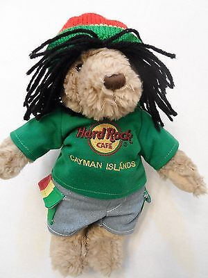 Limited Edition Rasta Collectable Bear Cayman Islands Hard Rock Cafe 2008 Rare