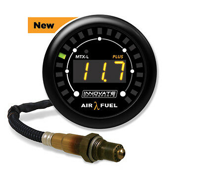 #3918 INNOVATE MOTORSPORTS MTX-L Plus Wideband Air/Fuel Ratio Gauge Kit