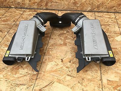 105K Mercedes W211 E63 Cls63 C63 Ml63 Oem Muffler Air Box Cealner Air Intake Set