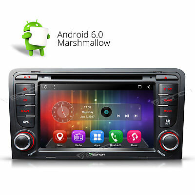 GA7157 InDash for Audi A3 S3 Android 6.0 Car DVD Player Radio Stereo GPS Touch W