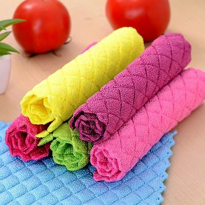 Best Magic Dish Cloth Cleaning Cloth High Efficient Washing Towel Kitchen Rags