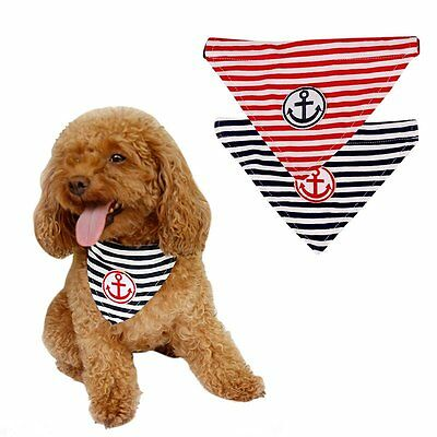 Adjustable Pet Dog Puppy Cat Neck Scarf Bandana with Collar Neckerchief Tie Bib
