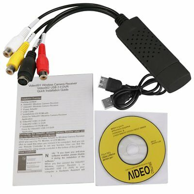 Capture Card Video USB 2.0 to DVD Adapter Converter EasyCap PC WIN7/8/10/XP AU G
