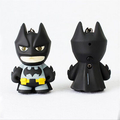 Plastic Voice Luminous Keychain Batman LED