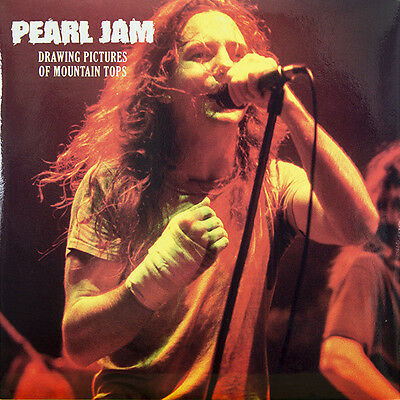Pearl Jam – Drawing Pictures Of Mountain Tops - 2 lp