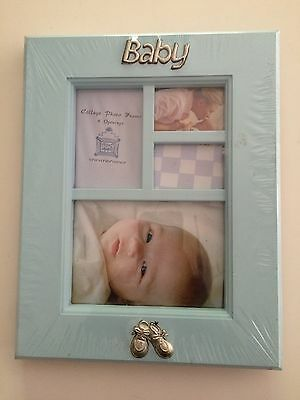 Perfect Memories Baby Boy Collage Photo Frame New& Factory Sealed