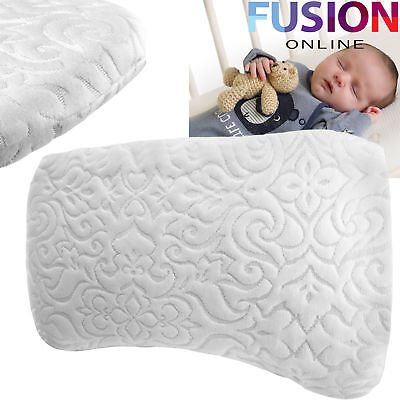 Baby Memory Foam Pillow Infant Child Sleeping Head Support Antiflat Head Cushion