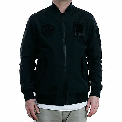 Element x Fluff Mag Limited Release Bomber Jacket Black LIMITED RELEASE RARE NEW
