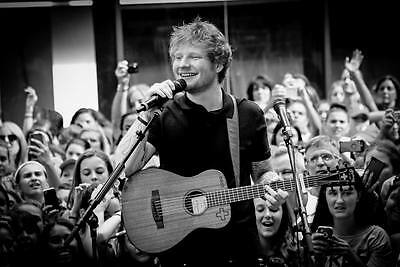 "229 Ed Sheeran - English Singer Songwriter Music Art 20""x14"" Poster"