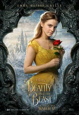 "9026 Hot Movie TV Shows - Beauty and the Beast 2017 10 14""x20"" Poster"
