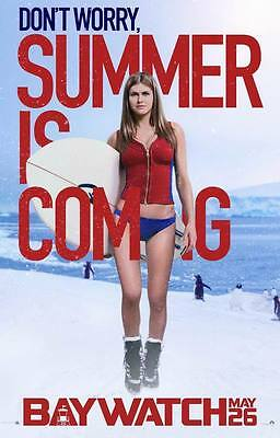 "9021 Hot Movie TV Shows - Baywatch 2017 7 14""x21"" Poster"