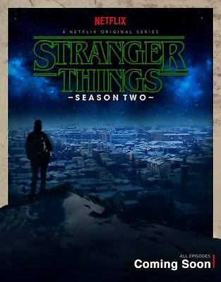 "10291 Hot Movie TV Shows - Stranger Things Season 2 4 14""x17"" Poster"