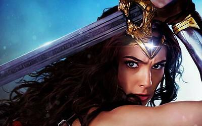 "10517 Hot Movie TV Shows - Wonder Woman 2017 31 22""x14"" Poster"