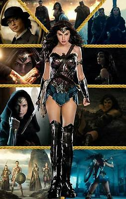 "10522 Hot Movie TV Shows - Wonder Woman 2017 36 14""x22"" Poster"