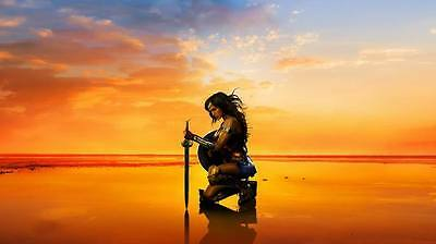 "10498 Hot Movie TV Shows - Wonder Woman 2017 14 24""x14"" Poster"