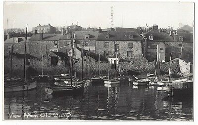 ISLES OF SCILLY View From Old Quay, RP Postcard Postally Used c1950
