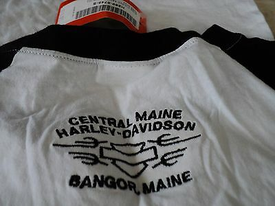 Harley Davidson Motorcycles Kids Girls Size Small White Short Sleeve T Shirt