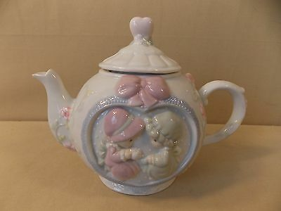 "Precious Moments ""Friendship Hits the Spot"" Teapot"