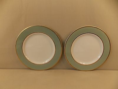"Taylor, Smith, Taylor ""Classic Heritage- Celadon Green"" 2 Dinner Plates"