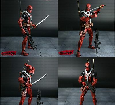 Deadpool Wade Wilson Action Figuren, 17 cm Marvel Superhelden, Neu
