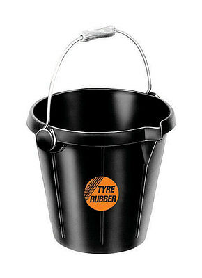 Faulks & Cox KANGURO SUPER 3 BUCKET Feed Water Tyre Rubber Handle 14 Litre (B1)