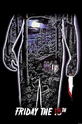 "9496 Hot Movie TV Shows - Friday the 13th 36 14""x21"" Poster"