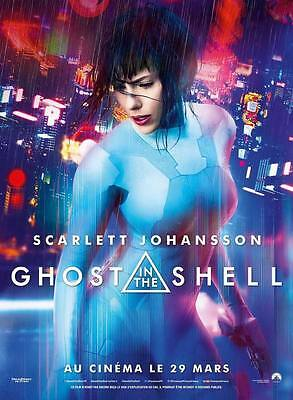 "9601 Hot Movie TV Shows - Ghost in the Shell 2017 34 14""x19"" Poster"