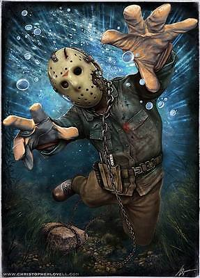 "9519 Hot Movie TV Shows - Friday the 13th 57 14""x19"" Poster"
