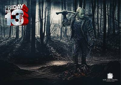 "9484 Hot Movie TV Shows - Friday the 13th 25 19""x14"" Poster"