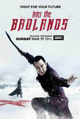 "9673 Hot Movie TV Shows - Into the Badlands Season 2 14""x20"" Poster"