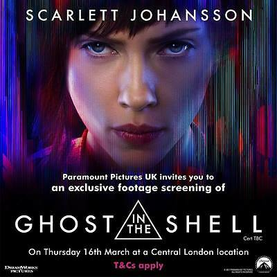 """9587 Hot Movie TV Shows - Ghost in the Shell 2017 21 14""""x14"""" Poster"""