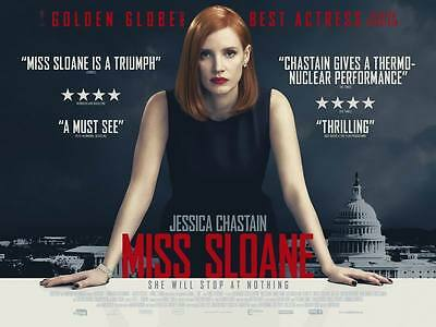 "9904 Hot Movie TV Shows - Miss Sloane 2016 18""x14"" Poster"