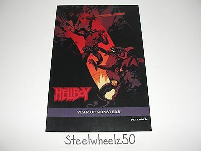 Hellboy In Hell #1 Year Of Monsters Mike Mignola Variant Comic Dark Horse 2012