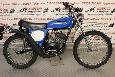 Benelli 125 Cross Enduro Bike, Road Legal, Rare Bike