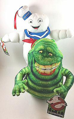 Ghostbusters Movie Stay Puft Marshmallow Man And Slimer 2016 Stuffed Soft