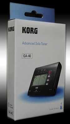 KORG GA-40 Advanced solo tuner- Accordeur- NEW